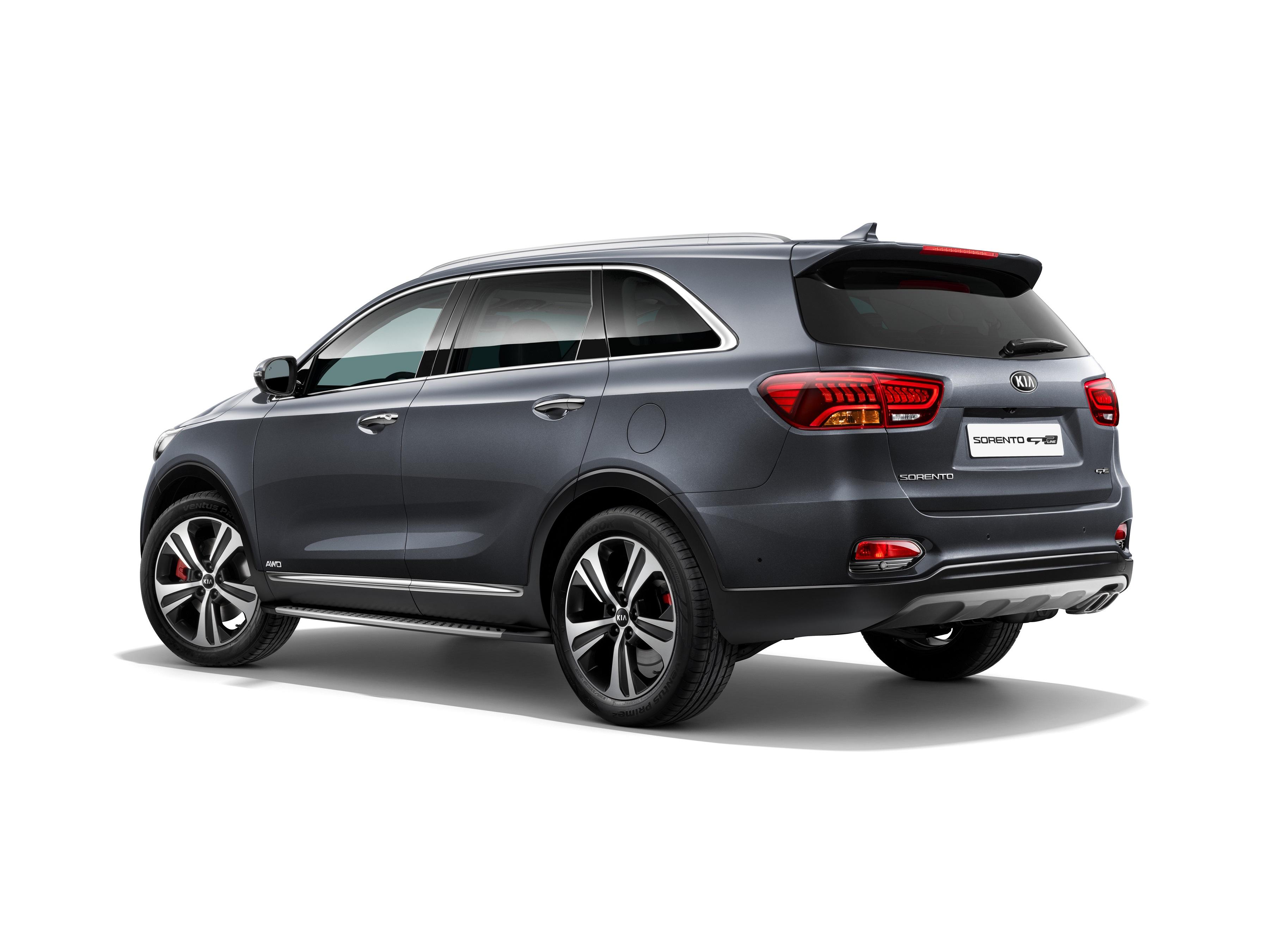 New design and in car technologies for new Kia Sorento