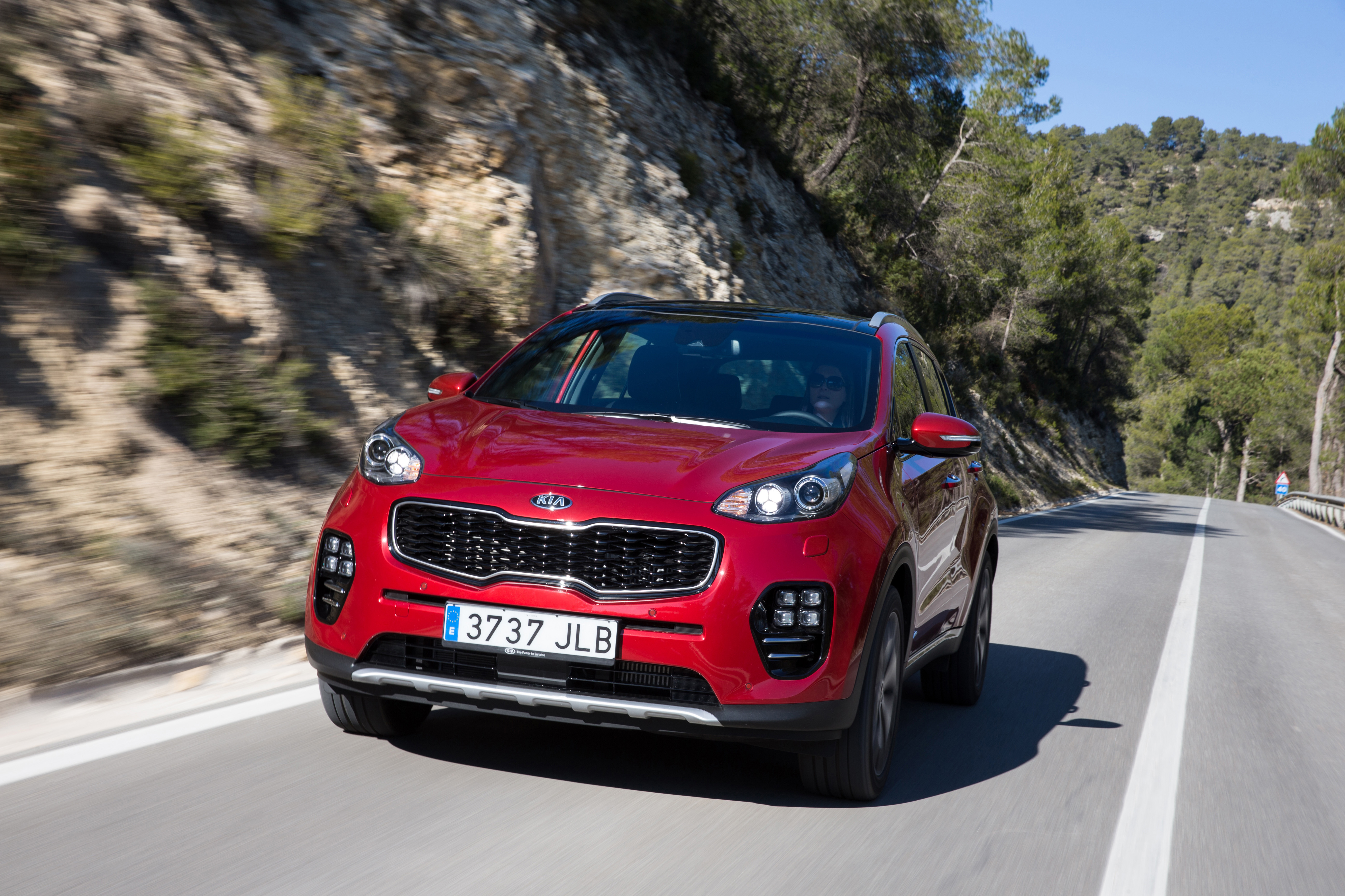 car and spied out shots kia news speed spy top cars sportage inside