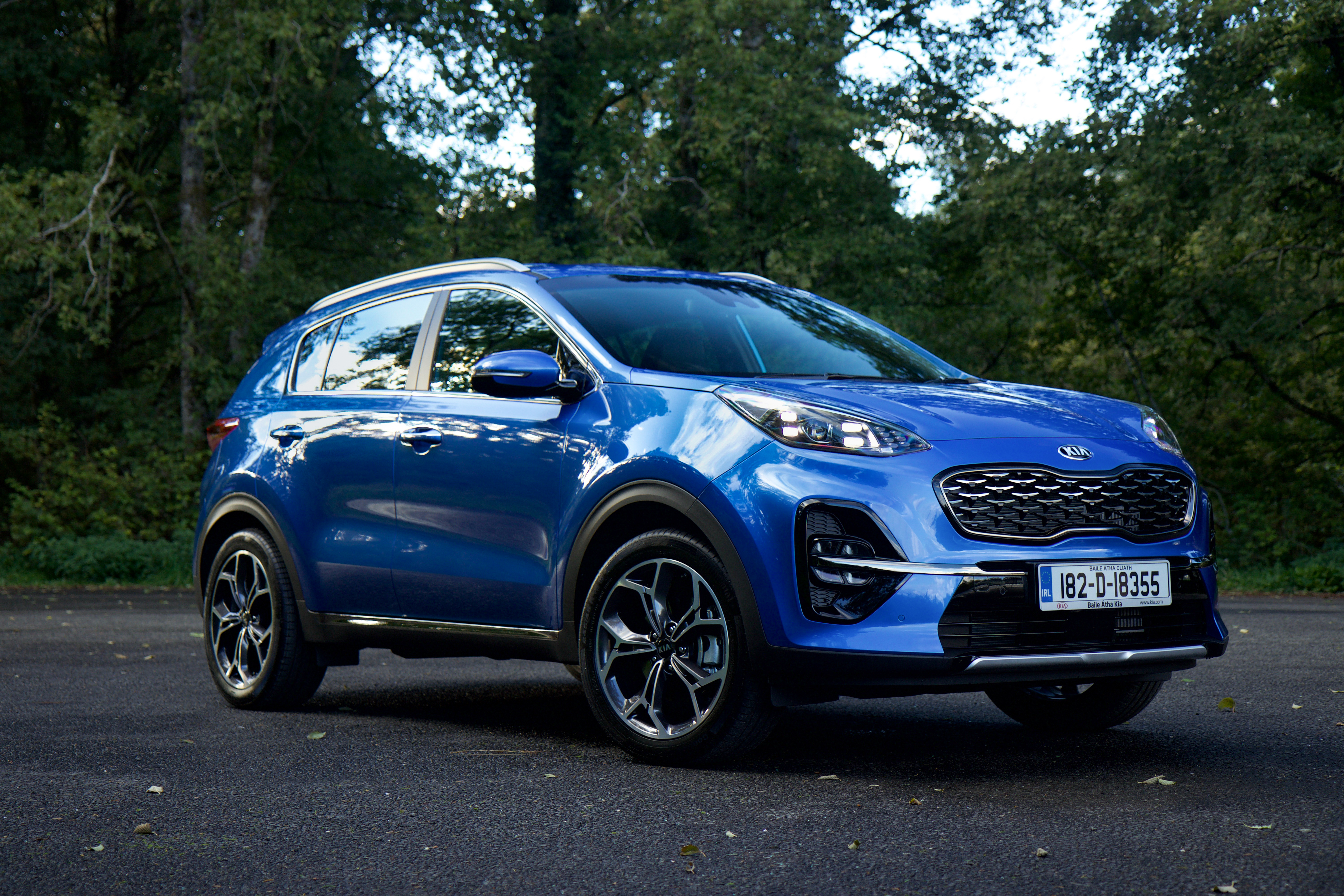 Kia Motors Ireland Launch 2019 Sportage Business Office Industrial Gt Automation Drives Control Line 182 Blue Exterior And Interior Static 102 To Cart
